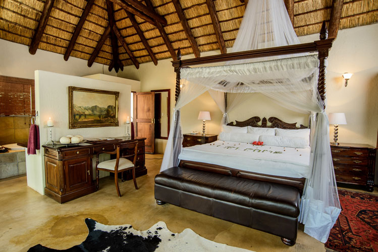 Luxury rooms at Shiduli Lodge