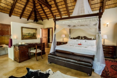 Royal suite at Shiduli lodge